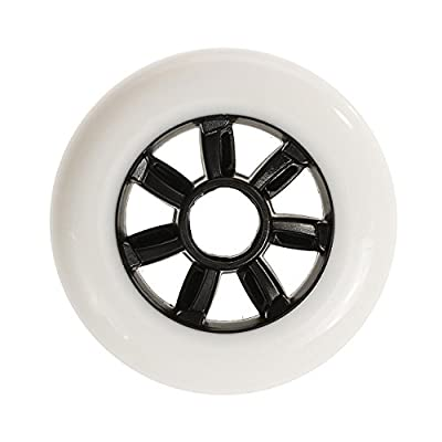 Rollerblade Hydrogen 84mm 85A Wheels (8 Pack), White, One Size : Sports & Outdoors
