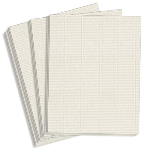 Royal Sundance Gray Laid Cardstock - 8 1/2 x 11, 80lb Cover, 2000 Pack