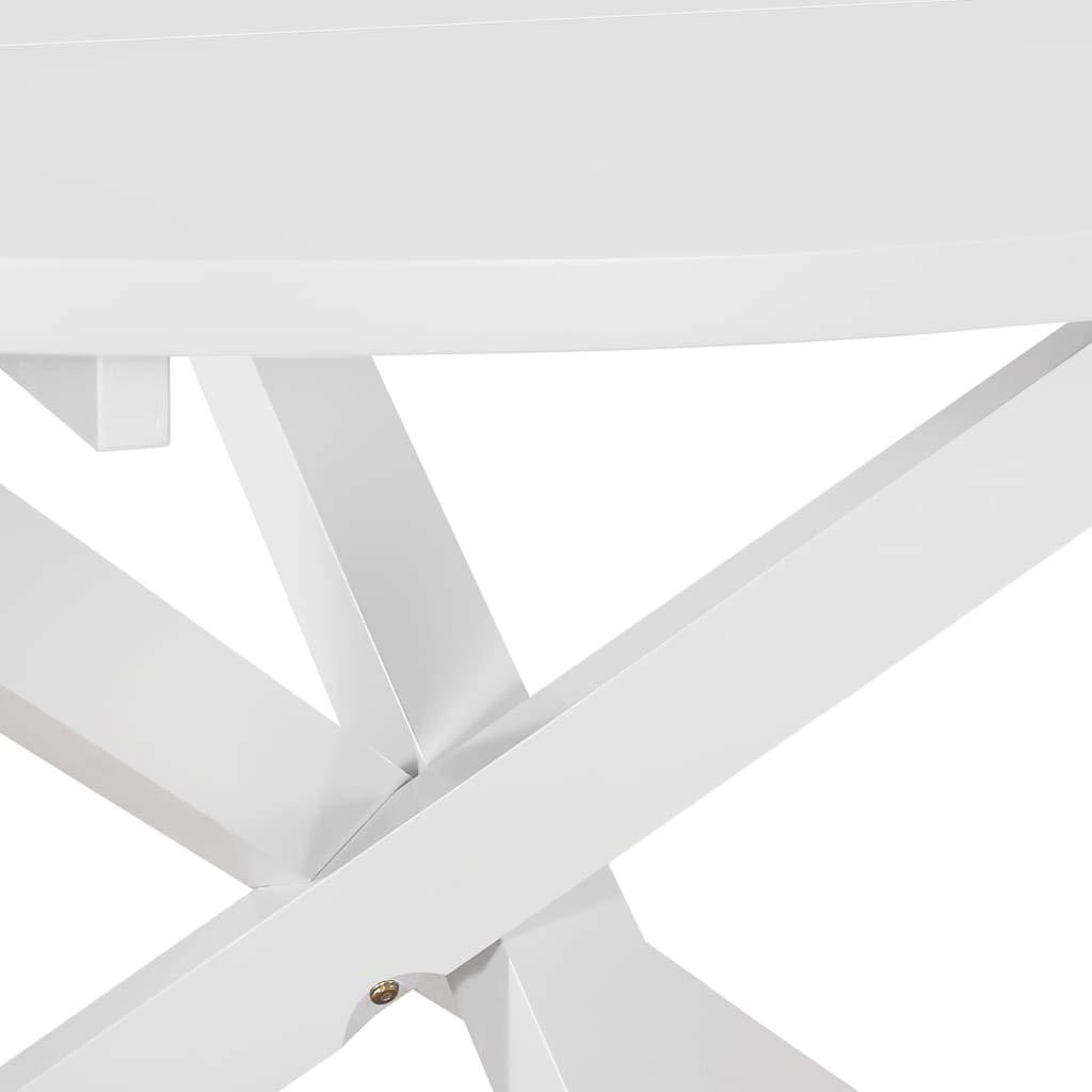 vidaXL Mesa de Comedor MDF Decoración Mobiliario Hogar Cocina ...