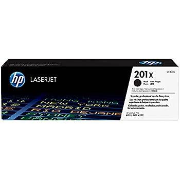 HP 201X (CF400X) Toner Cartridge, Black High Yield for HP Color LaserJet Pro M252dw, M277, M277c6, M277dw