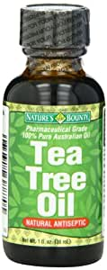 Nature's Bounty Natural Tea Tree Oil, 1 Ounce (Pack of 2)