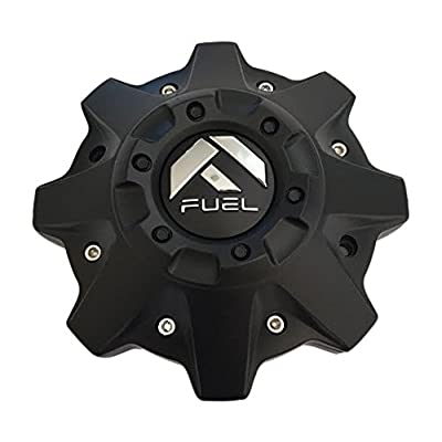 Fuel Offroad 1002-53B Cap M-447 Black 8 Lug Wheel Center Cap: Automotive