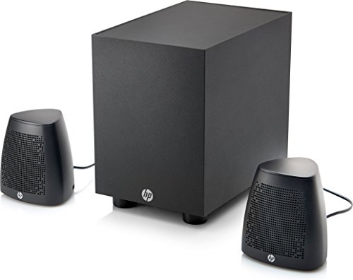 HP Wired Speakers and Subwoofer 400 (Black)