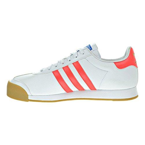 Adidas Samoa Casual Herenschoenen Maat Wit / Solar Rood / Gom