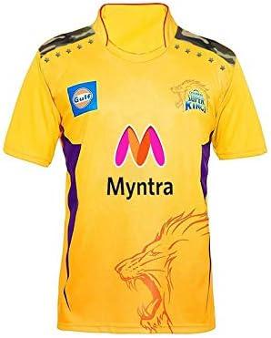 IPL Jersey Cheap price & Best Quality CHENNAI Super Kings IPL Cricket Jersey 2021