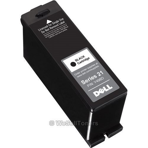 Series 21 Black Ink Cartridge (Y498D)V313/313w/515w/713w/715w