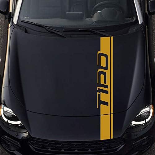 Auto Seitenstreifen Seitenaufkleber Aufkleber, für FIAT Tipo