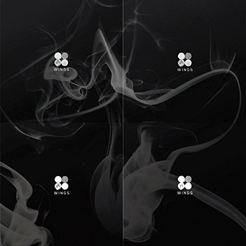 BTS - WINGS (Vol.2) [W.I.N.G 4 Versions SET] CD with 1 WINGS Official Folded Poster with 4 Extra Gift Photocard Sets (W Wing)
