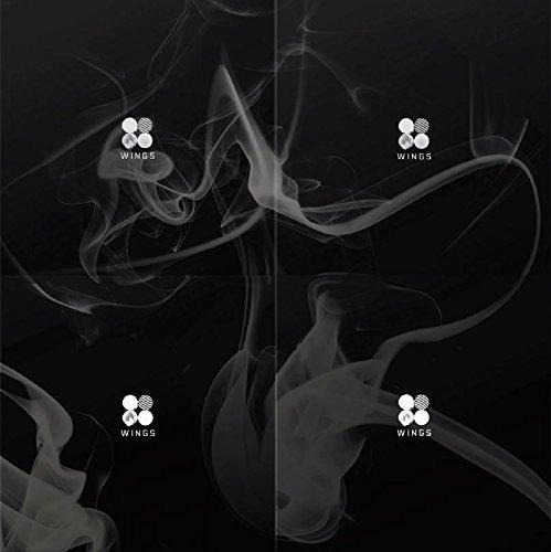 BigHit BTS - WINGS (Vol.2) [W.I.N.G 4 Versions SET] CD+Folded Poster+Extra Photocard Set