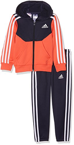 adidas Hooded Tracksuit - Girls - Noble Ink - Age 9-10 by adidas