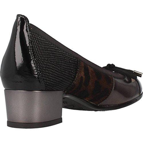 Zapatos bailarina para mujer, color Negro , marca HISPANITAS, modelo Zapatos Bailarina Para Mujer HISPANITAS TOPO Negro