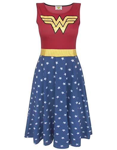 Wonder Woman Disfraz Vestido Cosplay Lujo