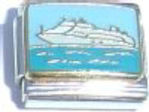 Boat Italian Charm - Boat Charm Italian