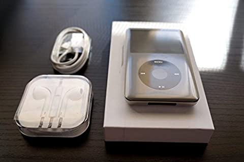 Apple MC297LL/A iPod Classic MP3/MP4 Player 160GB Black (7th Generation) (Discontinued by (Used Apple Nano)