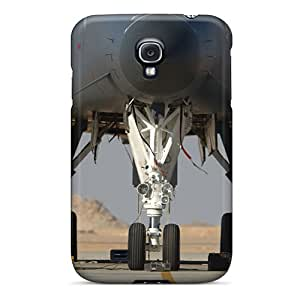 Faddish Phone Aircraft On Runway Case For Galaxy S4 / Perfect Case Cover