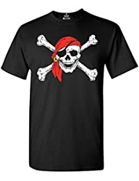 Jolly Roger Skull & Crossbones T-Shirt Pirate Flag Shirts