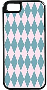 Blueberry Design Apple iPhone 4 Case iPhone 4S Case Diamond Pattern Design Sky Blue and Baby Pink -Ideal Gift by icecream design