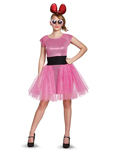 Disguise Women's Blossom Deluxe Adult Costume, Pink, Small]()