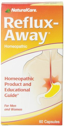 - NaturalCare Homeopathic Reflux-Away Capsules, 60-Count by NaturalCare