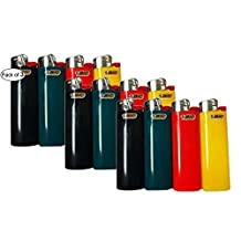 Bic Full Size Assorted Colour Lighters (Pack of 3)