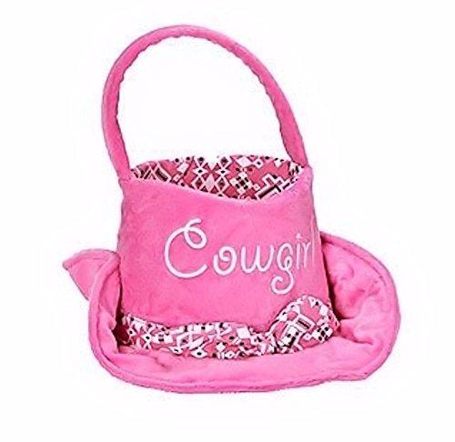 (Fun Plush Easter Baskets (Cowgirl Hat))