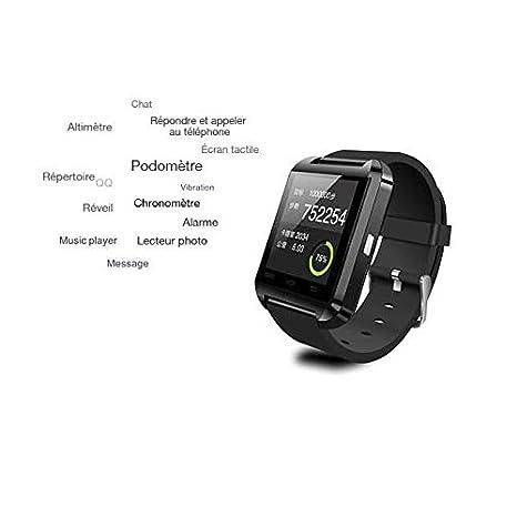 Reloj Conectado U8 Plus para iPhone y Smartphones Android, Color ...