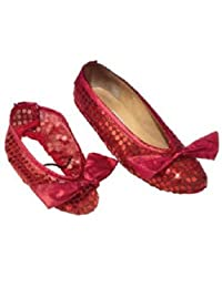 Rubie s Costume Co 10037 Wizard of Oz Shoe Covers Child Size X-Small-Small
