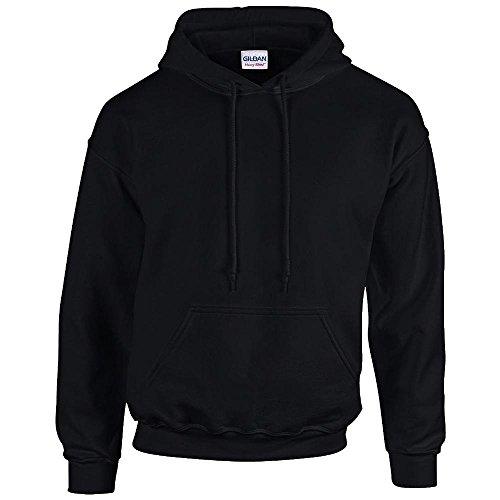 Gildan Heavy Blend Erwachsenen Kapuzen-Sweatshirt 18500 Black, M