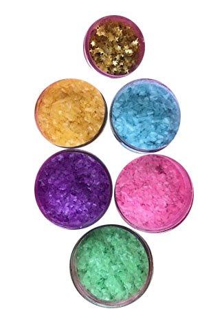EASTER EDIBLE GLITTER SET WITH STARS (5 COLORS) 1/4 oz. cakes, cupcakes,baby shower, cookies By Oh! Sweet Art (Orange) by Oh! Sweet Art