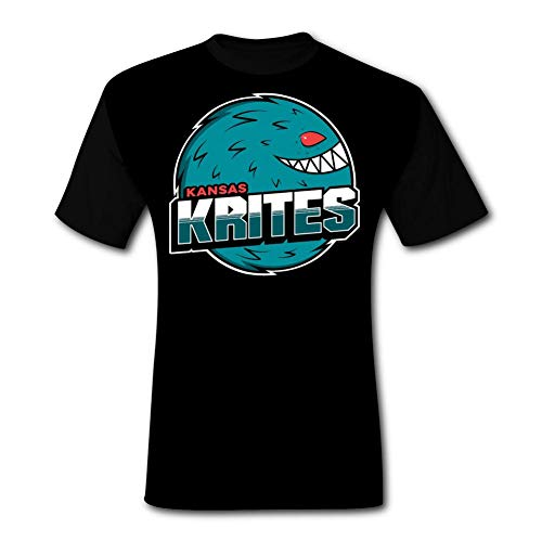 ETJIJCKDI Mens Critters Krites T-Shirt Short Sleeve Tee Shirts 3XL Black]()