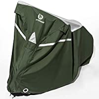 Deals on YardStash Reflective Bicycle Tarp & Waterproof Bike Cover Large