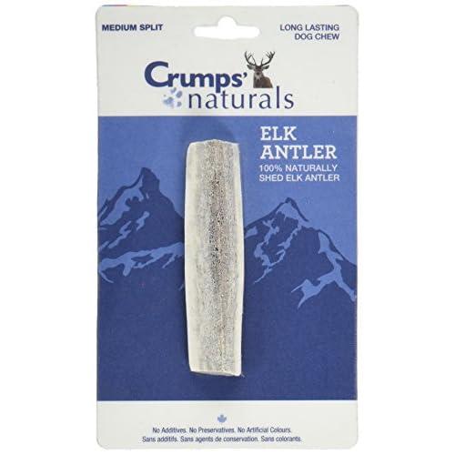 high-quality Crumps' Naturals CN-ANTLR-M Natural Flavor Medium Split Elk Antler (1 Pack)