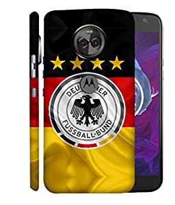 ColorKing Football Germany 16 Multicolor shell case cover for Motorola Moto X4