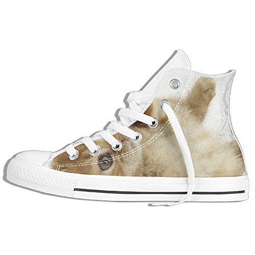 Max The Dog Costume For Adults (Cat-dog High Top Sneakers Canvas Shoes Cool Sport Shoes Fashion Unisex Style Size 42)