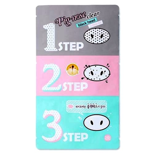 3-Pack-HOLIKA-HOLIKA-Pig-Nose-Clear-Black-Head-3-Step-Kit