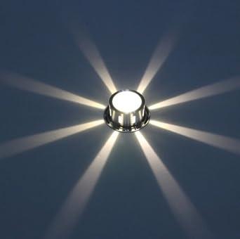 Korridor Licht Gang Schwarzlicht Kuh Lampe Deckenlampe Farbwechsel