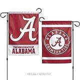 "WinCraft Alabama Crimson Tide 12""x18"" Garden Flag"