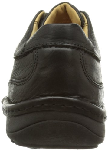 Clarks Nature Three 20340682, Scarpe stringate basse uomo nero