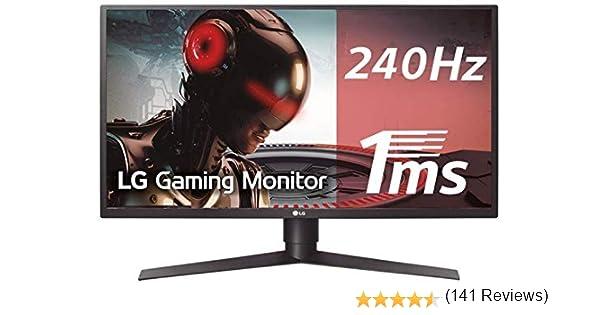 LG 27GK750F-B - Monitor Gaming FHD de 68,6 cm (27