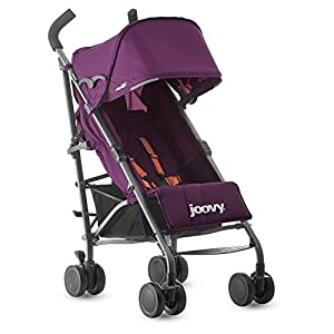 Joovy Groove Ultralight Lightweight Travel Umbrella Stroller, Purpleness