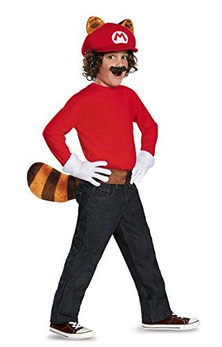 Mario Raccoon Super Mario Bros. Nintendo Child Costume Kit