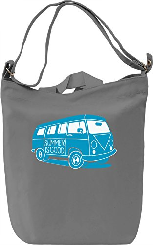 Summer is good Borsa Giornaliera Canvas Canvas Day Bag| 100% Premium Cotton Canvas| DTG Printing|