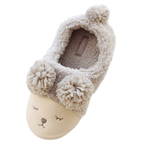 caramella-bubble-women-wool-plush-fleece-lined-slip-on-memory-foam-clog-house-slippers-indoor-outdoo