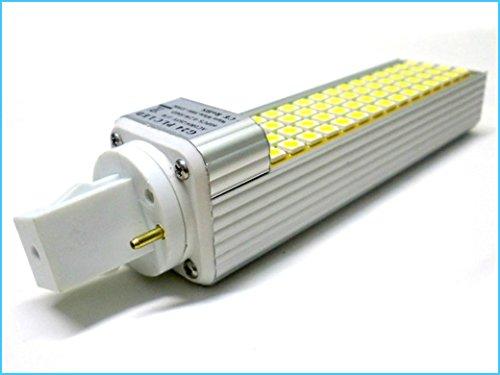 PLC de la lámpara LED G24 2 Pin 220V 12W 60 SMD 5050 Blanco frío Bajo Consumo: Amazon.es: Iluminación