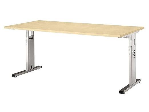 Regulable en altura escritorio O tamaño: 65 - 85 cm H x 160 cm ...