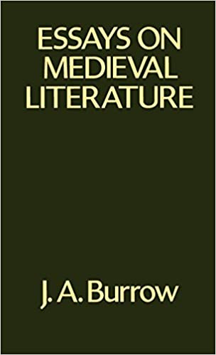 amazoncom essays on medieval literature  john a  essays on medieval literature st edition