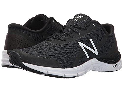メッセンジャー正当化する同情(ニューバランス) New Balance レディーストレーニング?競技用シューズ?靴 WX711 Black/White 5.5 (22.5cm) D - Wide