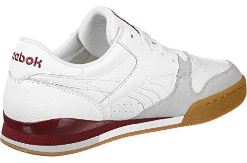 Rouge Cm9287 1 Basket Pro Phase Cv Reebok Blanc nq06RXwX