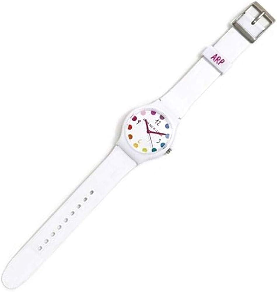 Agatha Ruiz de la Prada Reloj para Mujer Analógico Cuarzo japonés con Correa de Plástico AGR236