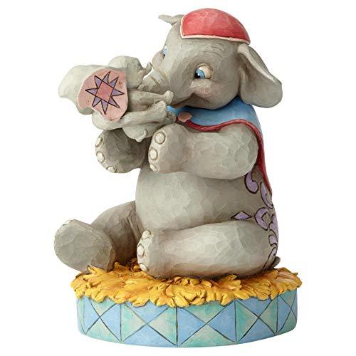 41oWsOKiUCL. SS500 Figurilla decorativa creada por el artista Jim Shore Producto adecuado para regalar, decorar o coleccionar Nombre de la colección: Disney Traditions